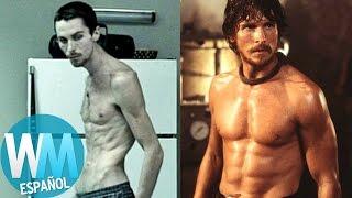 ¡Top 10 Actores que se pusieron Musculosos Para una Película!