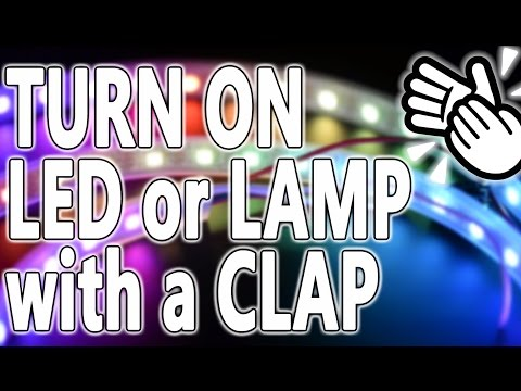 How to Turn ON LED with a Clap | Arduino Relay and Sound Sensor