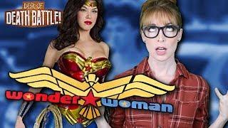 Wonder Woman's Failed TV Show | The Desk of DEATH BATTLE
