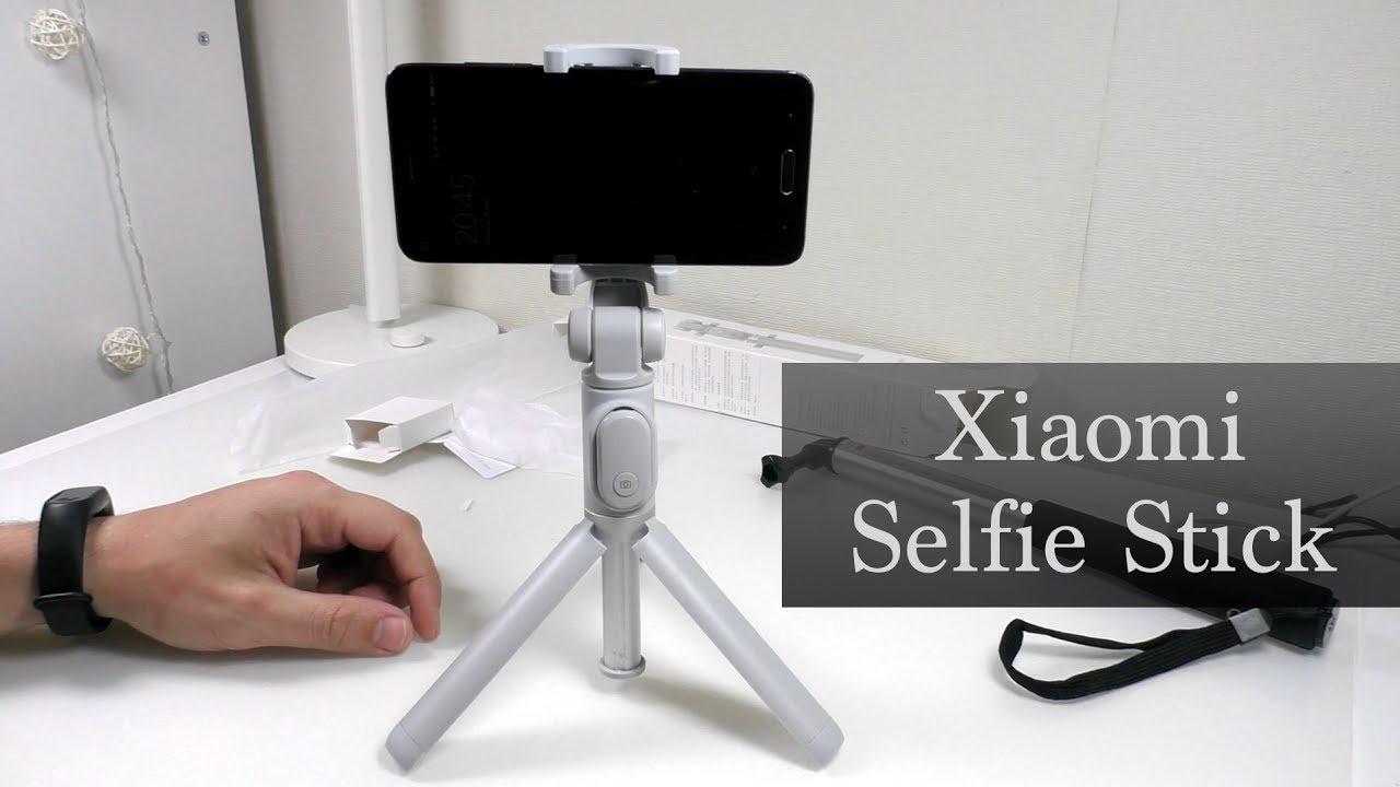 Селфи палка Xiaomi Selfie Stick с удаленным спуском и Tripod - все .