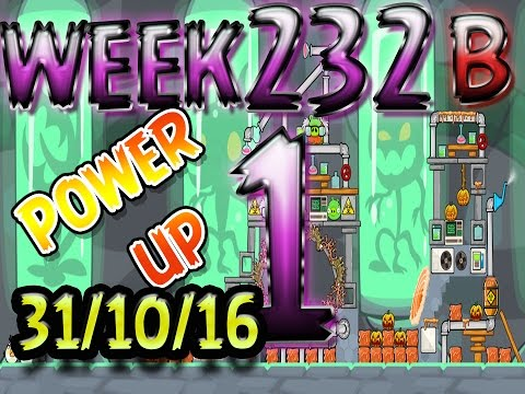 Angry Birds Friends Cryo Pranks Tournament Level 1 Week 232-B POWER-UP walkthrough
