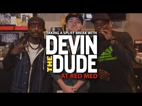 Taking a Spliff Break with Devin The Dude at Red Med