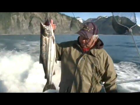 ALASKA salmon halibut fishing. Angeln Lachs Heilbutt.  part 02/Teil 02