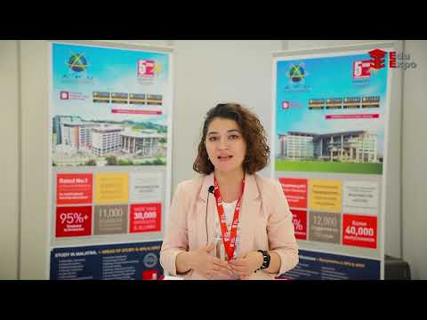 Asia Pacific University in International Education Fair 2019 organized by Edu Expo, March 15-17
