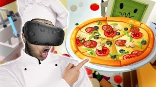 VIVE VR | افضل طباخ بيتزا بالعالم  - الواقع الافتراضي