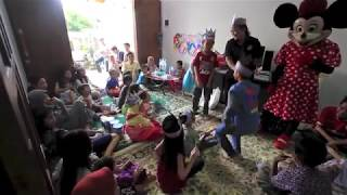 Badut dan Sulapan di Acara Ultah | Magic Trick at Birthday Event