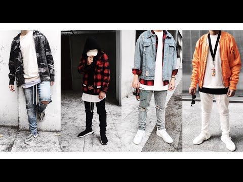 Outfit Diary | Some Outfit | Bomber Jacket | Flannel |  Video 4K