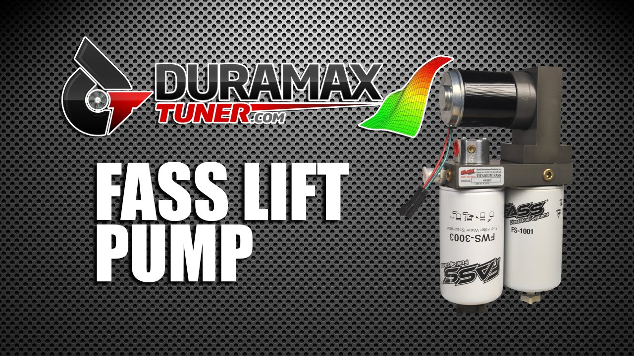 FASS Lift Pump by Duramaxtuner
