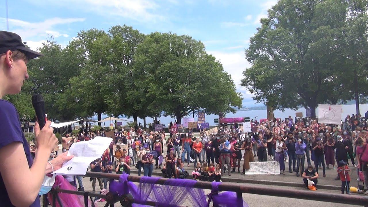 La grève du 14 juin 2020 dans le canton de Neuchâtel