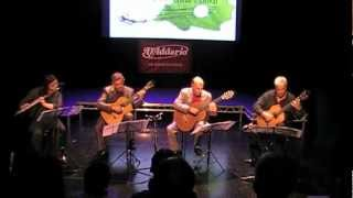 Pachelbel Canon In D - City of Derry Guitar Festival Quartet