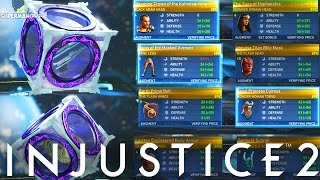 Injustice 2: Huge 100+ Mother Box Opening! - Injustice 2 Diamond, Platinum & Gold Mother Box