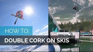 HOW TO DOUBLE CORK|PART 2| HOW TO DOUBLE CORK ON SKIS