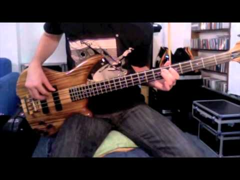 Day of the Baphomets Intro - Bass Cover