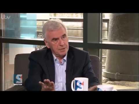 John McDonnell interview on #Peston