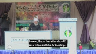 Jamia Ahmadiyya UK Sports Day