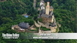 La vallée du Rhin -  merveille du monde - paysages paradisiaques - DVD Trailer