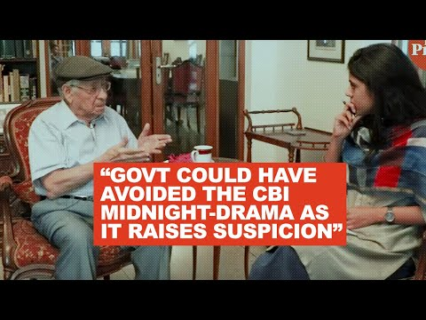 Modi government shouldn't have treated the CBI midnight drama like a Hitchcock movie : Soli Sorabjee