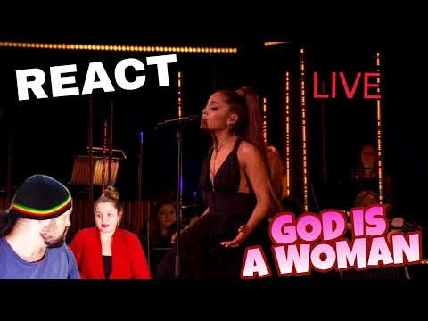 REAGINDO: ARIANA GRANDE - GOD IS A WOMAN  BBC REACT