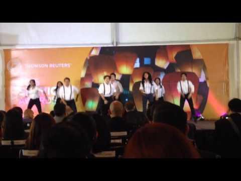 TRepsichore at Thomson Reuters Manila 2015 Service Awards