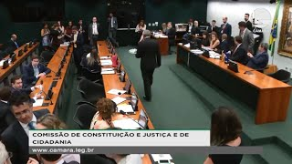 Constituição e Justiça - Leitura do relatório da PEC 410/18 segunda instância - 16/10/2019  11:04