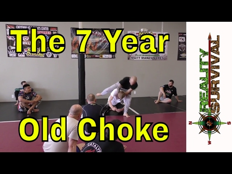 Jeff Glover BJJ Seminar  The 7 Year Old Choke Funny Story