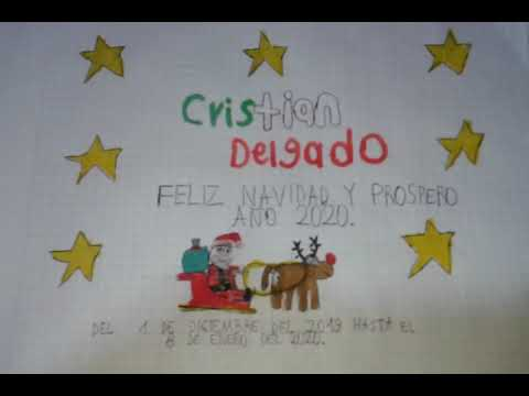 Bumper De Feliz Navidad Y Prospero Año 2020 Del Canal Cristian Delgado (01/12/2019 - 08/01/2020)