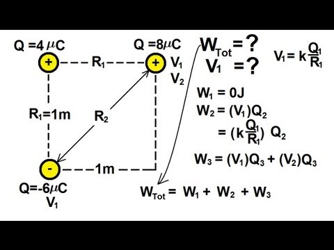 Physics - Electrical Potential and Electrical Potential Energy (6 of 6)