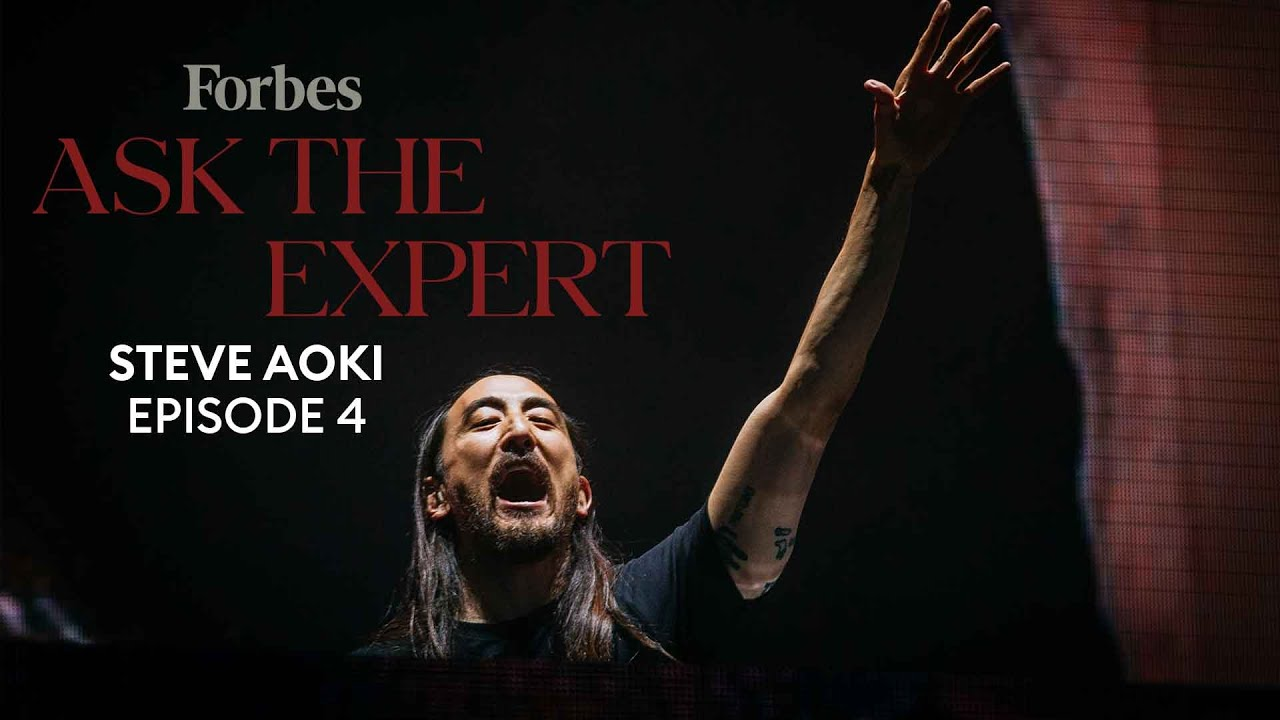 How Steve Aoki Is Staying Creative While Stuck At Home | Ask The Expert