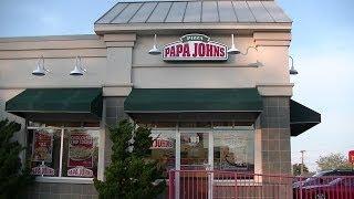 Sas Pizzanight: Papa John's Sweet Chili Chicken Pizza
