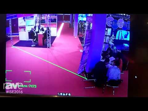 ISE 2016: Visualint Shows Live Image of ISE 2016 with Subject Tracking and Alerts