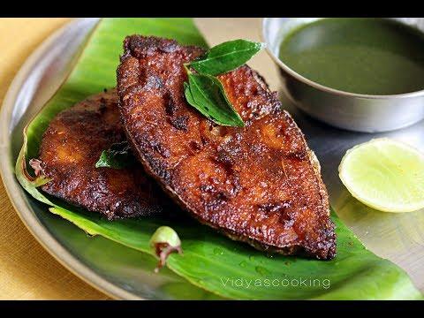 Restaurant Style Crispy Fried Seer Fish (Poricha Vanjaram Meen)