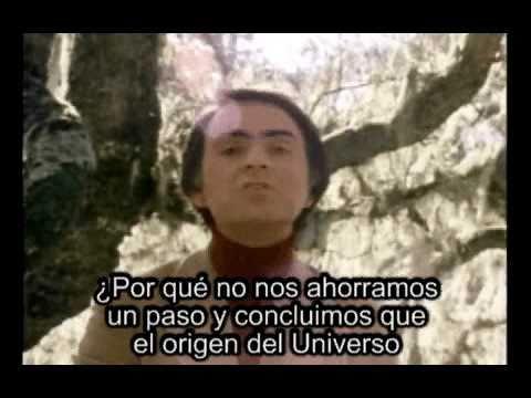 Carl Sagan, sobre dios y los dioses (subtitulado)
