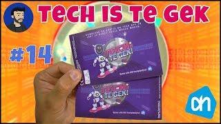 Albert Heijn verzamel plaatjes - #14 - Tech is te gek!
