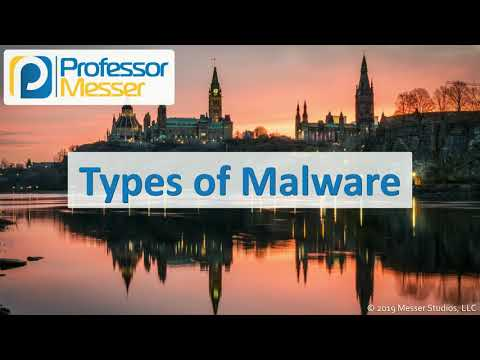 Types of Malware – CompTIA A+ 220-1002 – 2.4