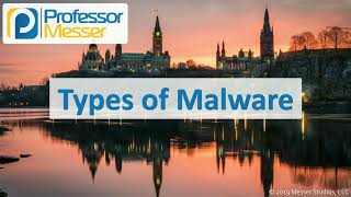 Types of Malware - CompTIA A+ 220-1002 - 2.4