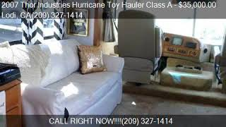 Video 2007 Thor Industries Hurricane Toy Hauler Class A  for sale download MP3, 3GP, MP4, WEBM, AVI, FLV Juli 2018