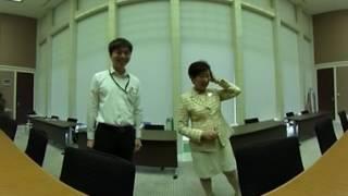 小池知事の執務室紹介(360度動画)