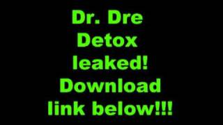 Dr. Dre Detox Album Leak 2011 w/ download link