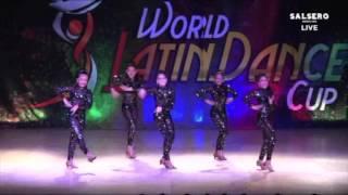 junior salsa girls team- world latin dance cup 2015