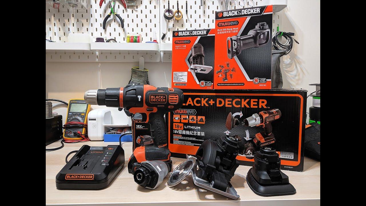好用電鑽工具推薦- 百工 BLACK+DECKER 二代惡魔機