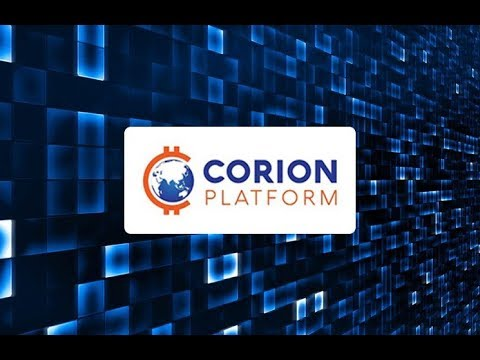 Corion Platform Altcoin event in Dubai explaining about what it is