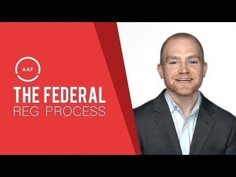 AAF Explains: The Federal Regulatory Process