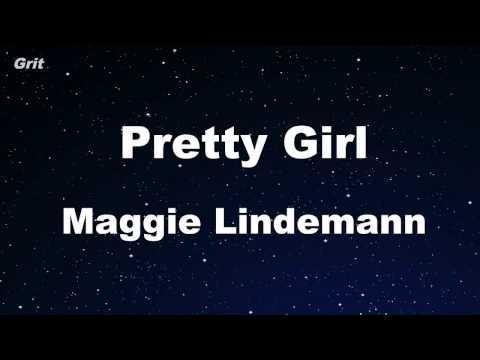 Pretty Girl - Maggie Lindemann Karaoke 【No Guide Melody】 Instrumental