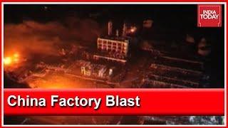 China Chemical Factory Blast Kills 44, Leaves 90 Injured