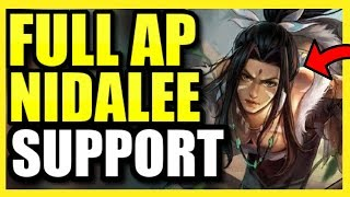 (INFINITE POKE) NIDALEE IS A *GOD-TIER* SUPPORT!  THIS AP NIDALEE SUPP BUILD WILL CHANGE YOUR LIFE