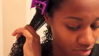 define 3c 4a natural hair curls using ecostyler gel   eiffelcurls