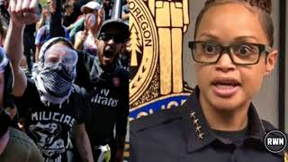 BREAKING! WATCH: Portland Police Chief Asks Press 'Why isn't Antifa EVER Held Accountable?!'