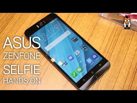 ASUS ZenFone Selfie with 13 MP front cam Hands on [english]