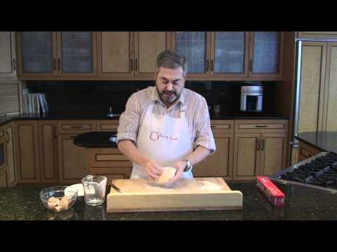 Homemade Pasta: Making and kneading dough