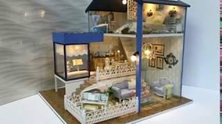DIY Miniature Dollhouse /Romantic Cottage/미니어쳐 하우스 낭만별장/袖珍屋 浪漫别墅